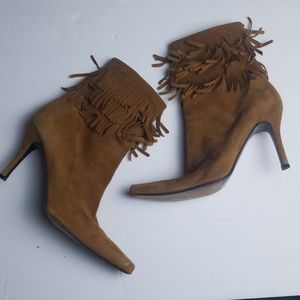 Shoes - Fringe Boots Booties